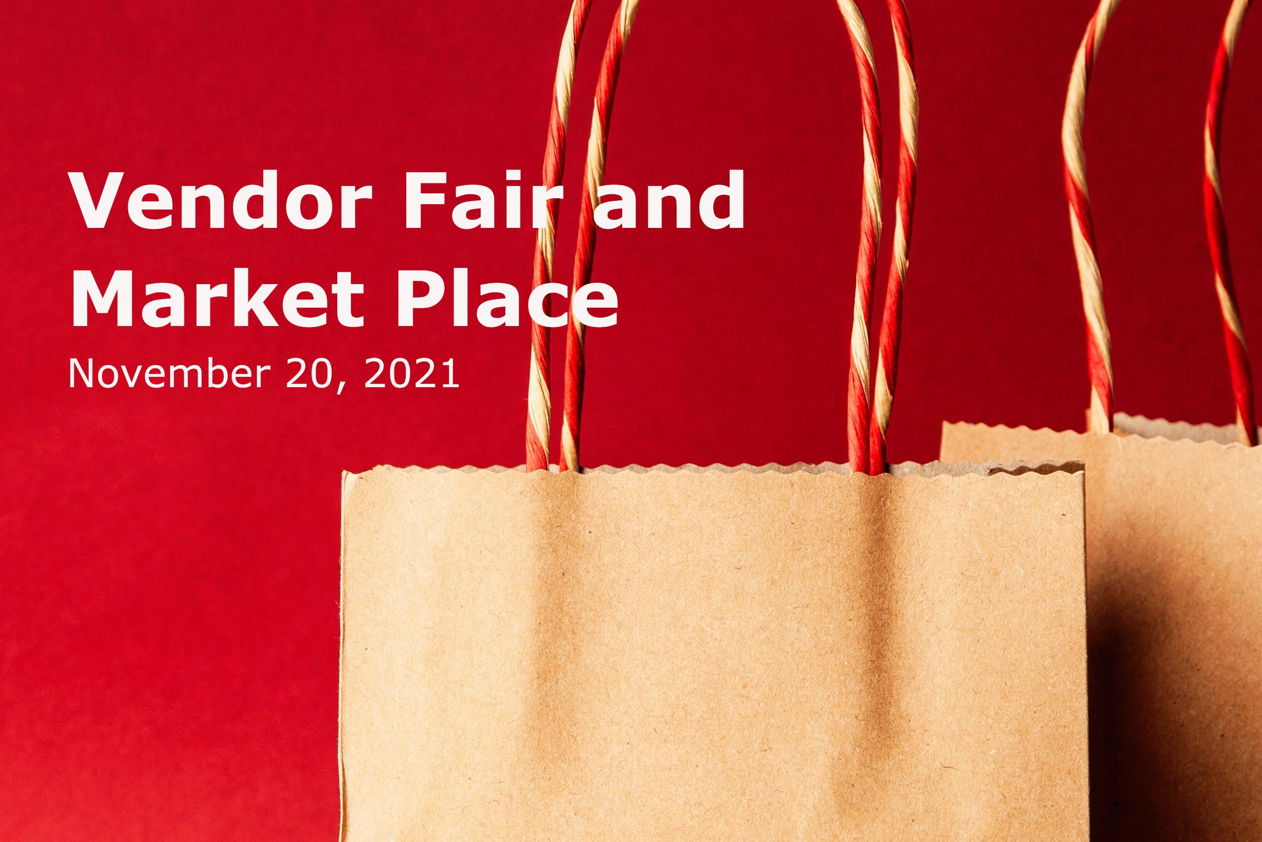 Vendor Fair and Market Place